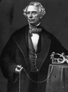 circa 1850: American inventor of the electric telegraph and morse code, Samuel Finlay Breese Morse (1791 - 1872). (Photo by Hulton Archive/Getty Images)